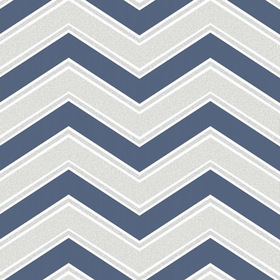 Coloroll Chevron Navy-Blue M1149