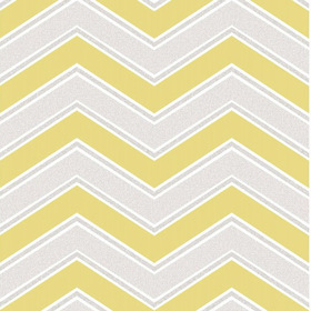 Coloroll Chevron Yellow M1144