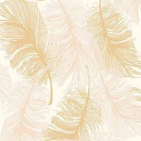 Coloroll Feather Gold Effect M0926
