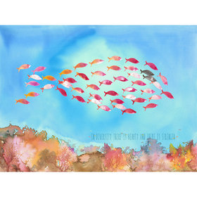 Coordonne Fish Shape 6100065