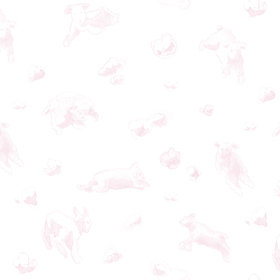 Coordonne Flying Sheep Pink 6100034