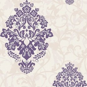 Crown Arabesque Damson M0550