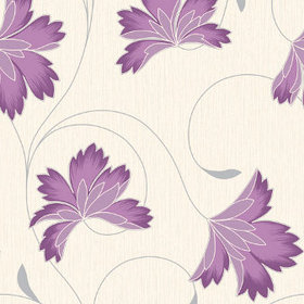 Crown Flourish Plum M0626