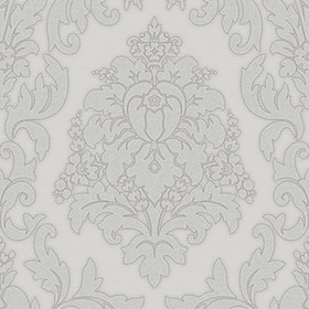 Crown Harewood Damask Grey M1010