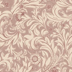 Crown Meadow Scroll Russet M1171