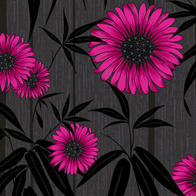 Crown Almeria Black Pink M0672