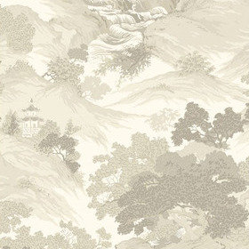 Crown Oriental Landscape Natural M1193