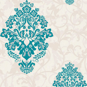 Crown Samsara Arabesque Teal M0548