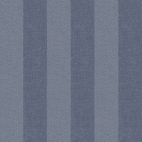 Crown Tweed Stripe Linen Blue M1310