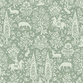 Crown Woodland Sage Green M1167