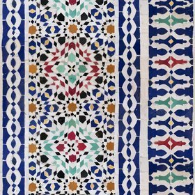 Debbie Mc British Design Moulay Blue