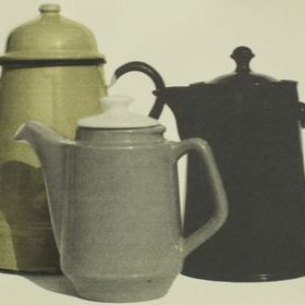 Deborah Bowness Coffeepot border Yellow