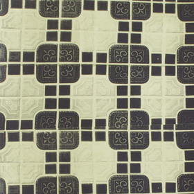 Deborah Bowness London Tile Olive Green