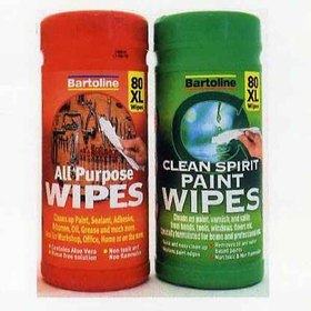 Bartoline Clean Spirit Paint Wipes MA50033