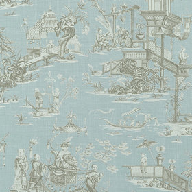 Thibaut Cheng Toile Robins Egg T75468