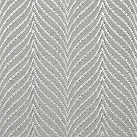Thibaut Clayton Herringbone Metallic Silver on Charcoal T75501