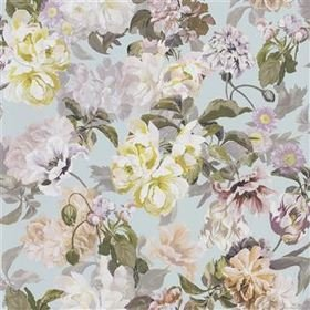 Designers Guild Delft Flower Duck Egg PDG1033-04
