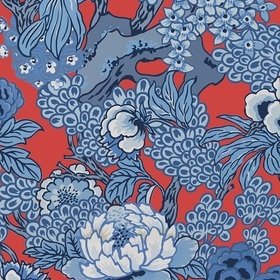 Thibaut Honshu Red and Blue T75489