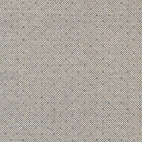 Thibaut Lattice Weave Black T75480