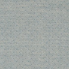 Thibaut Lattice Weave Blue T75477