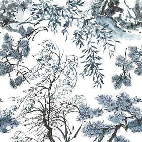 Designers Guild Winter Palace Indigo FDG2297-01