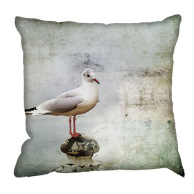 Debbie Mc British Design British Seagull Cushion