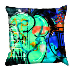 Debbie Mc British Design Camden Green Cushion