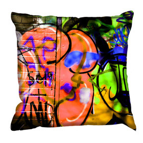 Debbie Mc British Design Camden Orange Cushion