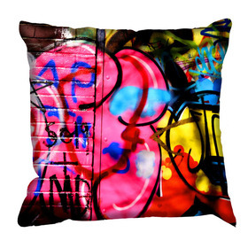 Debbie Mc British Design Camden Pink Cushion
