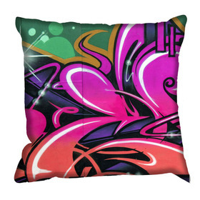 Debbie Mc British Design Carnaby Fuchsia Cushion