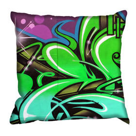 Debbie Mc British Design Carnaby Lime Cushion