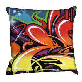 Debbie Mc British Design Carnaby Tangerine Cushion