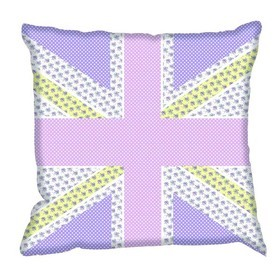 Debbie Mc British Design Floral Jack Lavender Cushion