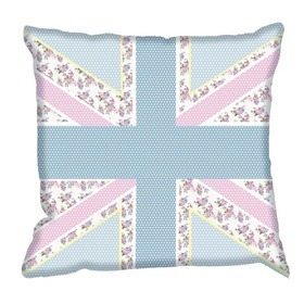Debbie Mc British Design Floral Jack Sorbet Cushion