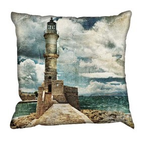 Debbie Mc British Design Lighthouse Cushion