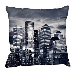 Debbie Mc British Design Moonlight Manhattan Cushion