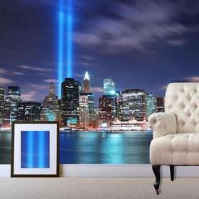 Debbie Mc British Design NYC Blue Lights