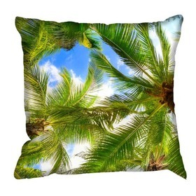 Debbie Mc British Design Palms Cushion