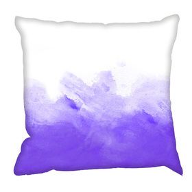Debbie Mc British Design Purple Wash Cushion