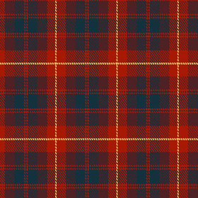 Debbie Mc British Design Red Tartan