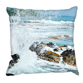 Debbie Mc British Design Rocky Sea Cushion
