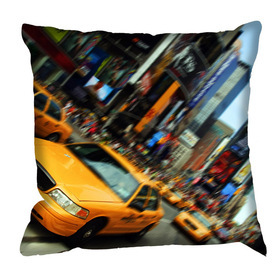 Debbie Mc British Design Times Square Motion Cushion