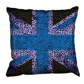 Debbie Mc British Design Tribal Jack Blue Cushion