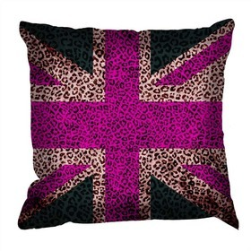 Debbie Mc British Design Tribal Jack Pink Cushion