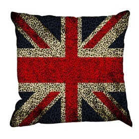 Debbie Mc British Design Tribal Jack Red Cushion