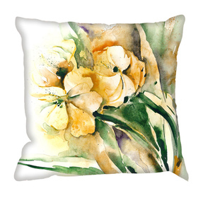 Debbie Mc British Design Tulips Wash Cushion