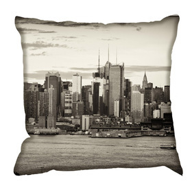 Debbie Mc British Design Vintage New York Cushion