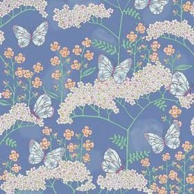 Eijffinger Butterflies And Flowers Blue 383620