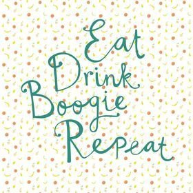 Eijffinger Eat Drink Boogie Repeat 383617