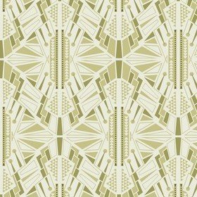 Fardis Empire State Green-Cream 12090